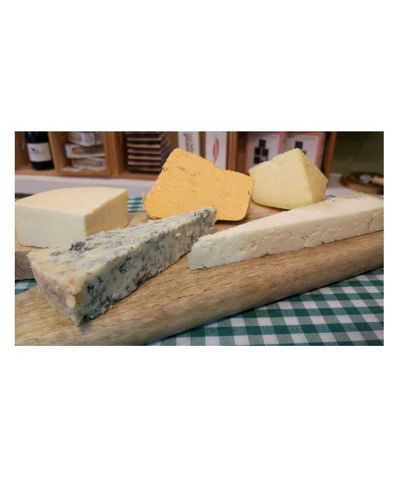 Tabla quesos de Asturias con Denominación de Origen